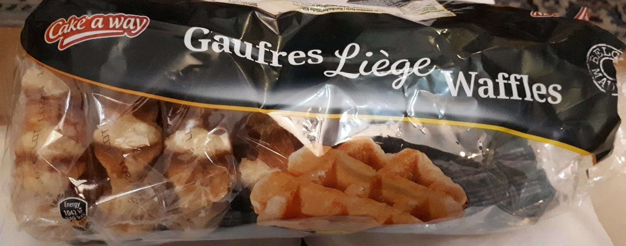 Gaufres de Liège - Product