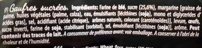 Gaufres de Liège - Ingredients