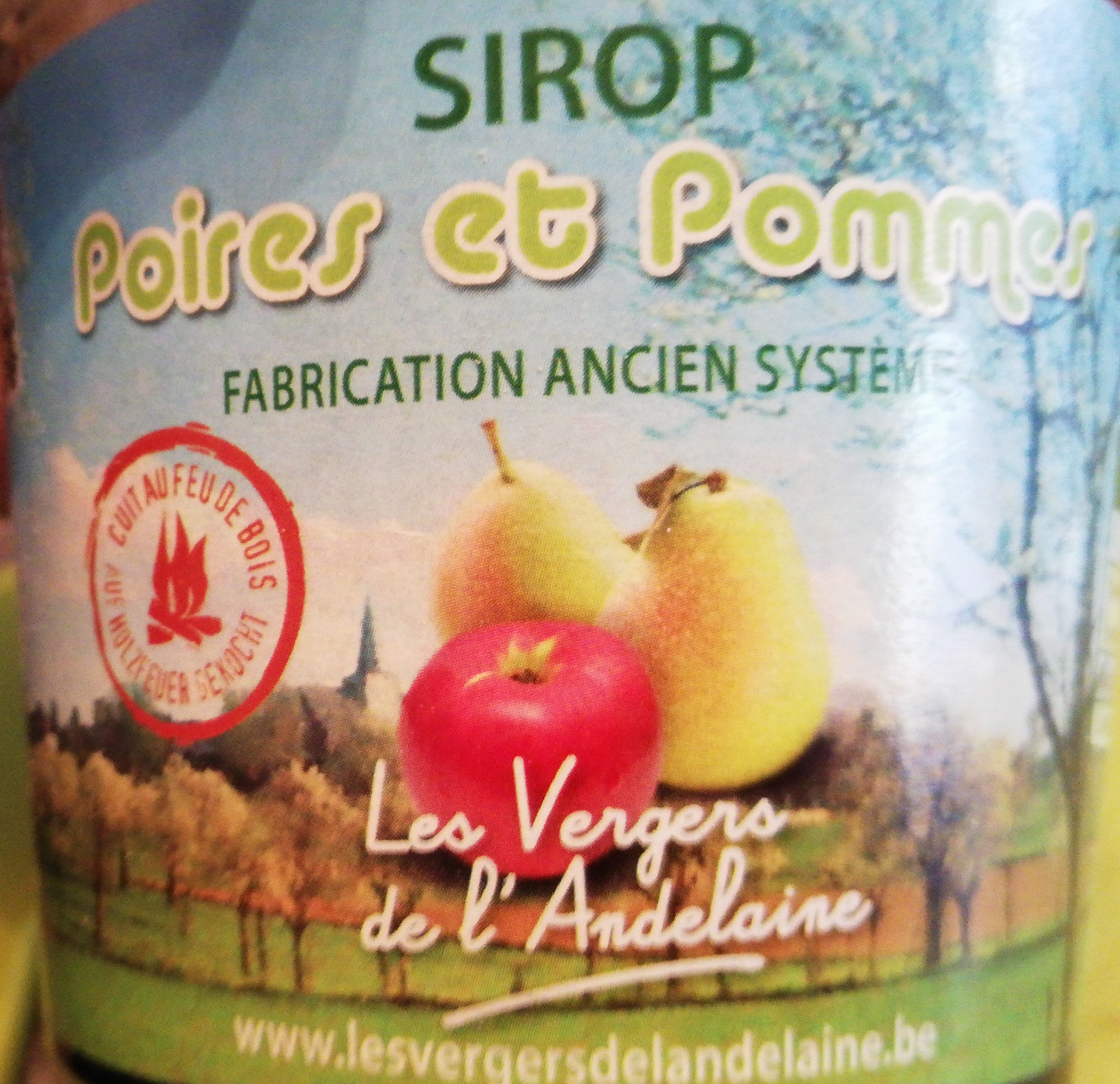 Sirop poires et pommes - Product - fr