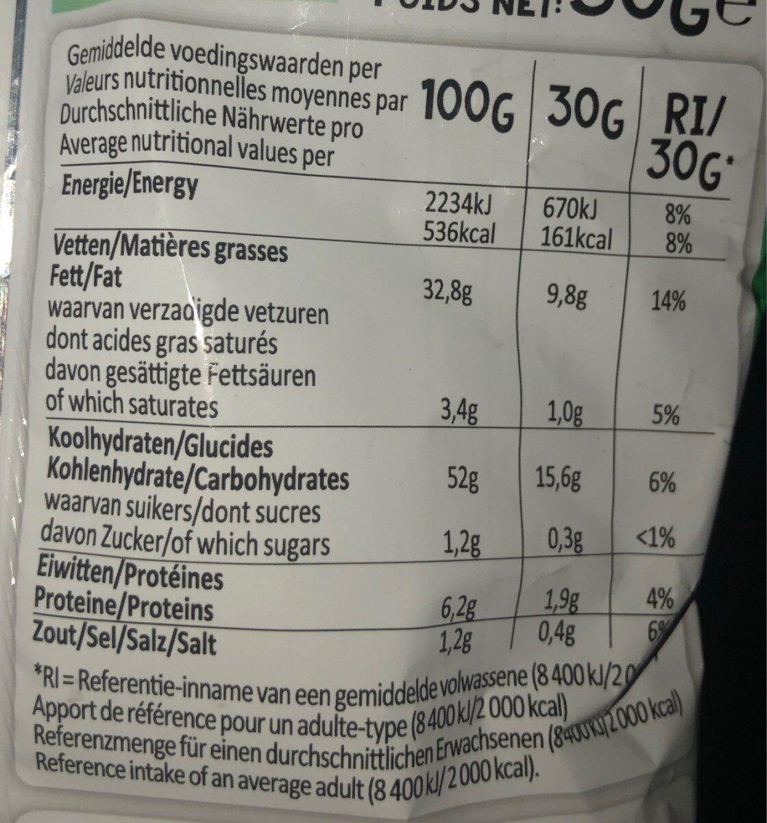 Croky bolognese - Informations nutritionnelles