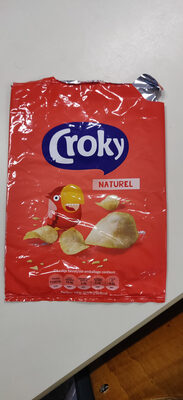 Croky chips naturel - Product - nl