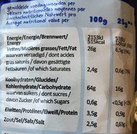 Hula Hoops Paprika - Voedingswaarden