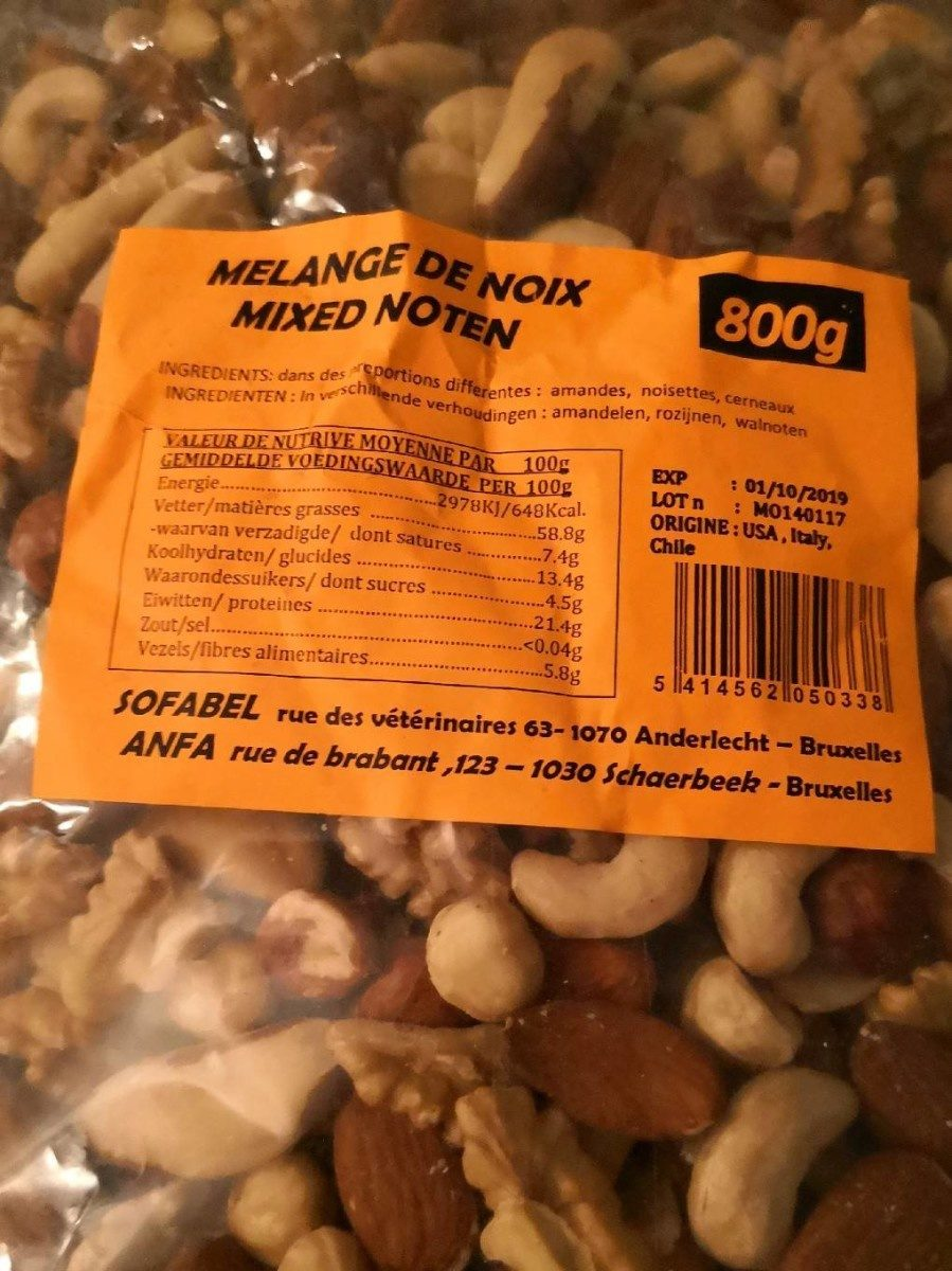 Mélange de noix - Produit - fr