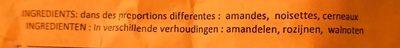 Mélange de noix - Ingrédients - fr