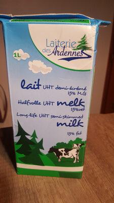 lait UHT demi écrémé 15%mg - Product