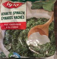 Epinards hachés a la creme - Product - fr