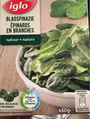 Epinards En Branches - Product - fr