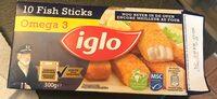 Fish sticks - Produit - fr