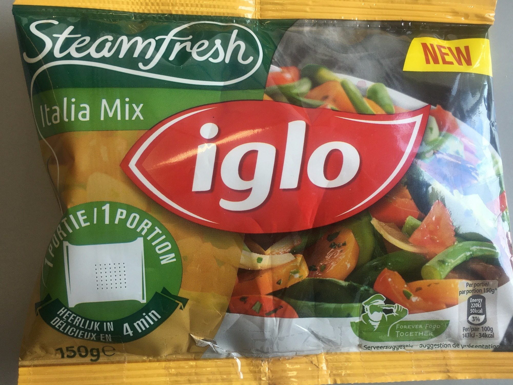 Iglo Italia Mix - Product - en