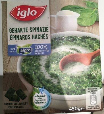 Epinards hachés avec Alpro - Product