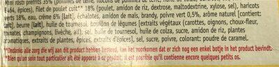 Filet de poulet - Ingrediënten - fr
