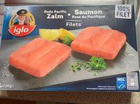Saumon rose acifique - Product