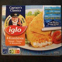 Kombinos tomate mozzarella - Product