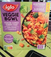 Veggie bowl Curry Thai - Product