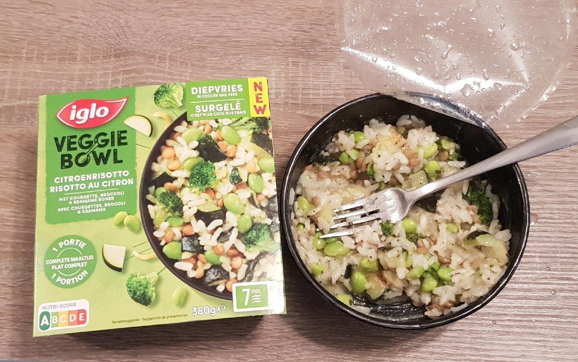 Veggie bowl risotto au citron - Product