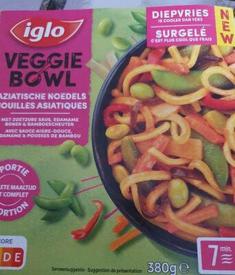 Iglo veggie bowl - Product