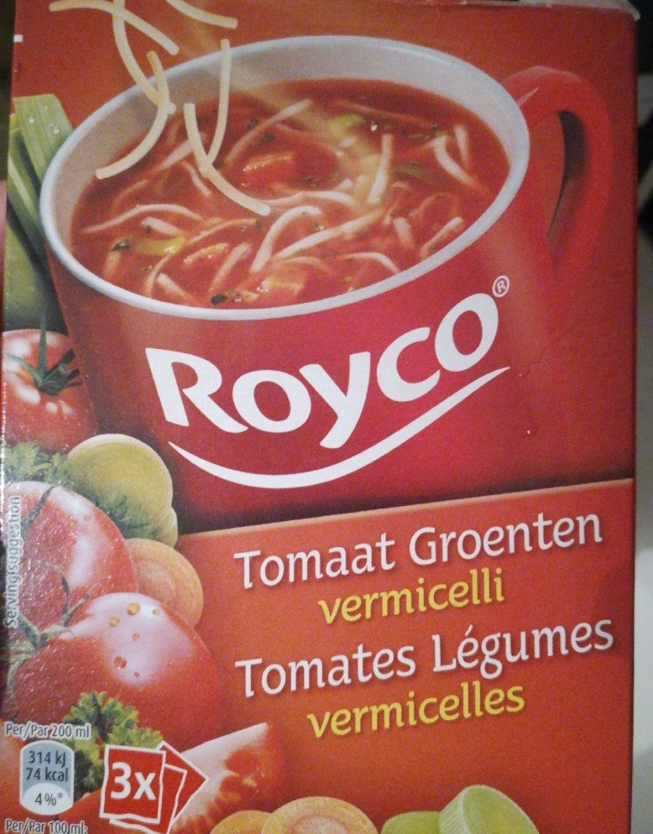 Tomates legumes vermicelles - Product - fr