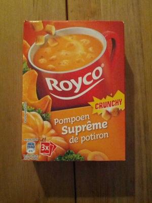 Suprême de potiron crunchy - Produit - fr