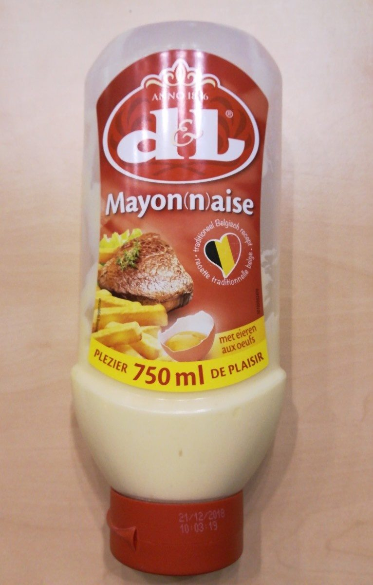 D&L Mayon(n)aise - Ingrédients - fr