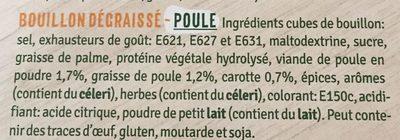 Bouillon poule - Ingrédients