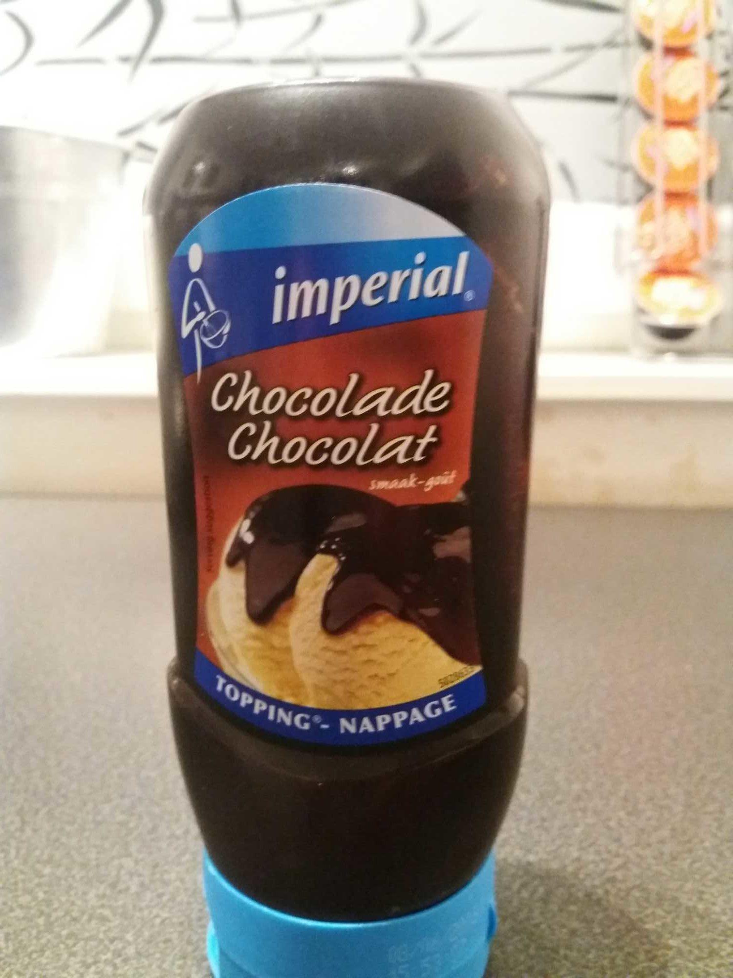 Chocolat liquide - Product