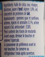 Suce pita - Ingrédients - fr