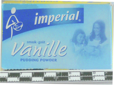 Vanille pudding powder - front