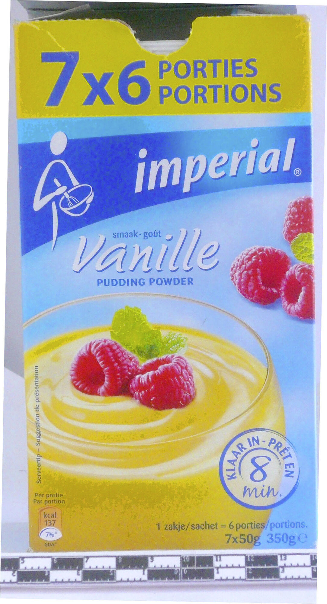 Pudding Powder goût Vanille - Produit - fr