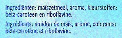 Vanille pudding powder - ingredients