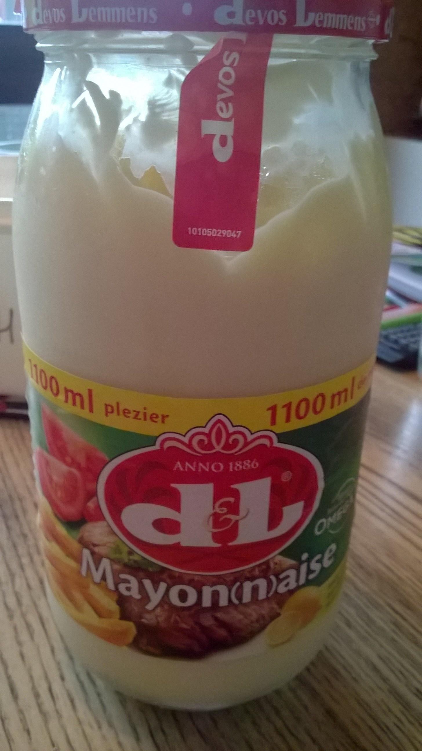 Mayonnaise Pot - Product