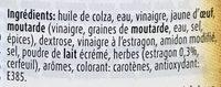 Classics Béarnaise - Ingrédients - fr