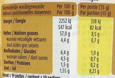 Classics Béarnaise - Informations nutritionnelles - fr