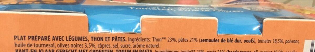 Insalatissime pasta e tonno - Ingrediënten
