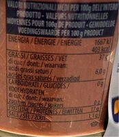 Thon a l'huile d'olive - Informations nutritionnelles - fr