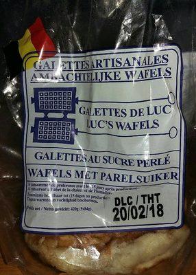 Galettes Artisanales au Sucre Perlé - Product