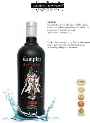 Vodka Templar Black - Product - fr