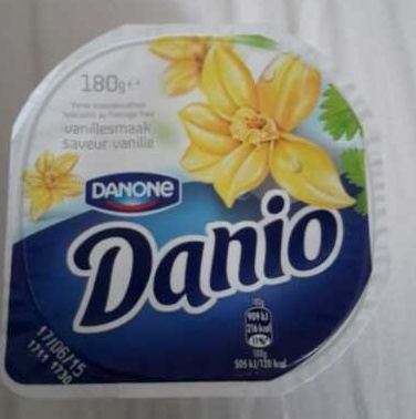 Danio saveur vanille - Product - en