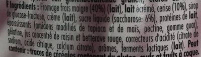 Cerise - Ingrediënten - fr