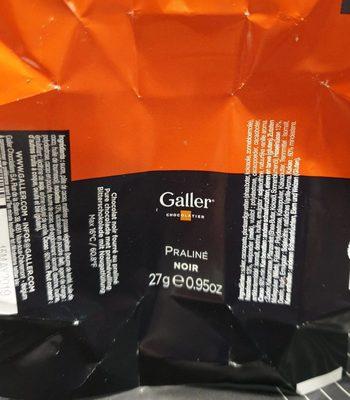 Praliné noir - Produit - fr