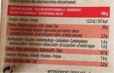 Sausages VeggiWiener - Informations nutritionnelles - fr