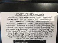 Nuggets Vegetariani 154 G - Ingredients - fr