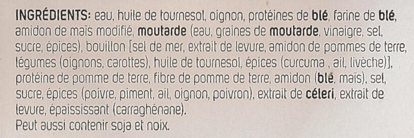 Nuggets végétaliens - Ingredients