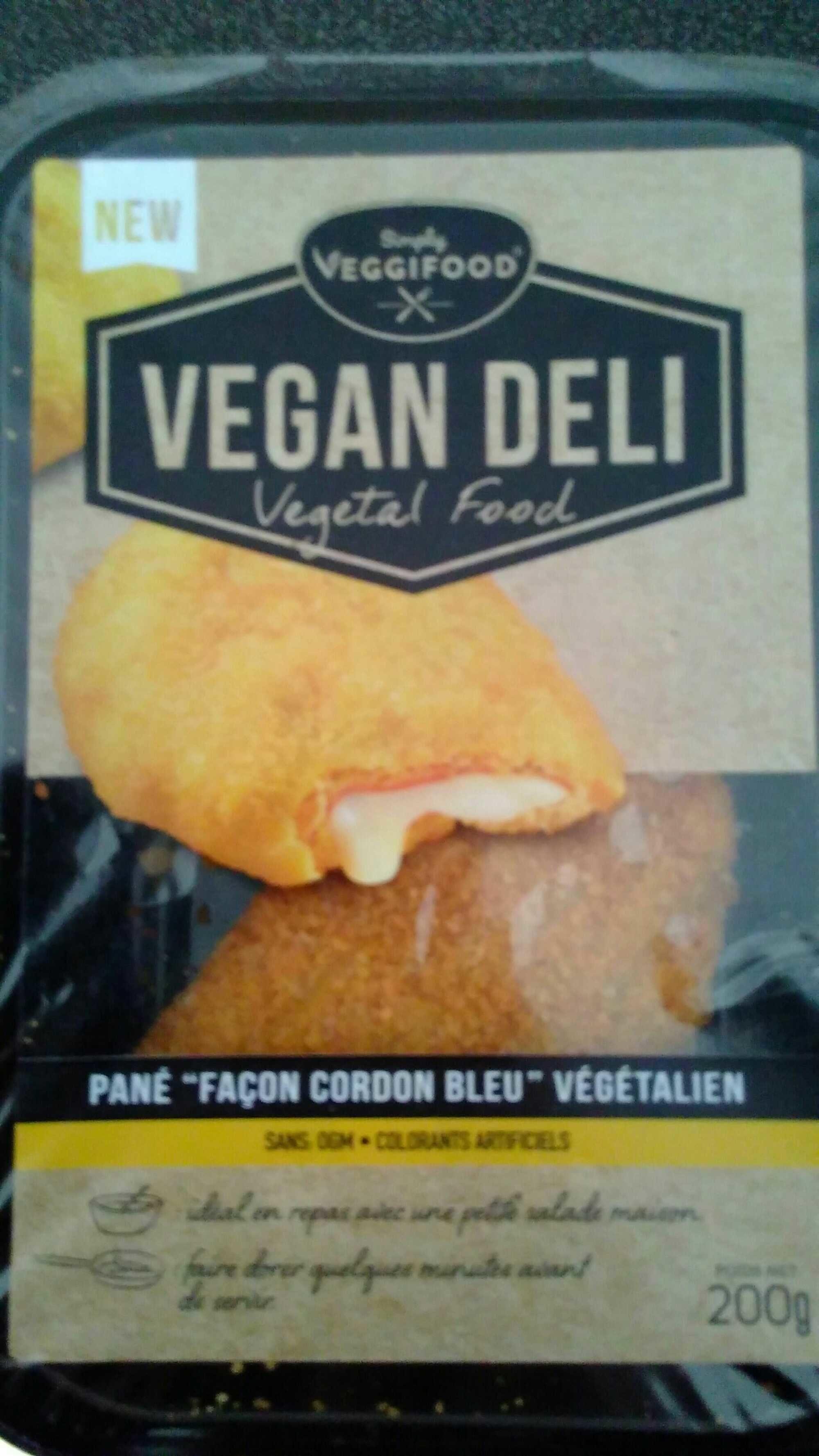 Pané façon cordon bleu végétalien - Product - fr