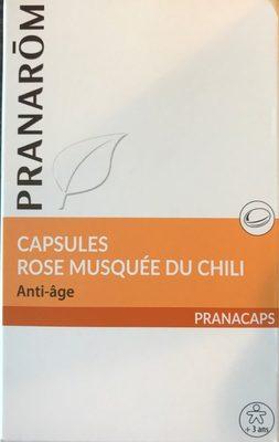 Capsules Rose musquée du Chili - Produit