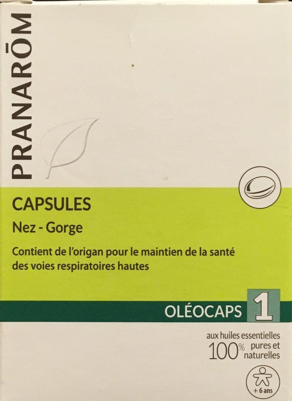 Capsules Nez-Gorge - Produit - fr