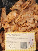 Chair de Poulet Cuite Kebab - Product - fr