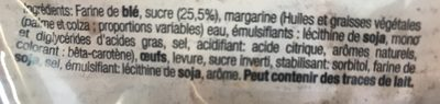 Gaufre Chasse - Ingredients - fr