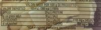 Grana Padano D.O.P. (29 % MG) - Nutrition facts - fr