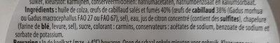 Tarama - Ingrediënten - fr