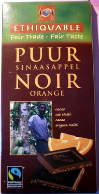 Ethiquable Noir Orange - Product